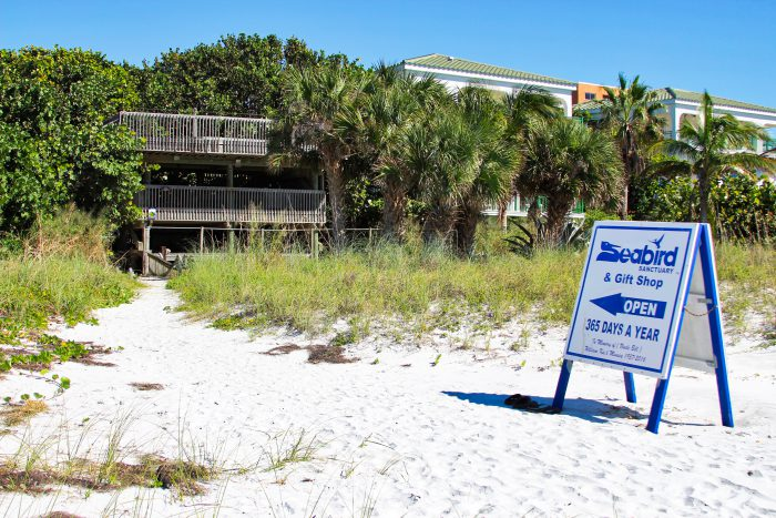 Seaside Seabird Sanctuary - Beach Entrance